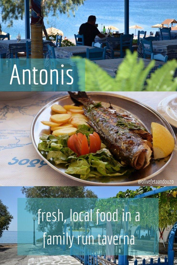 Antonis Fish Taverna Gennadi Rhodes