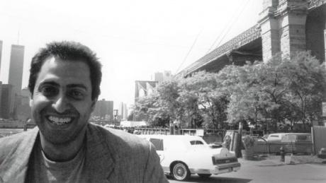 Photo of the artist Faisal Samra