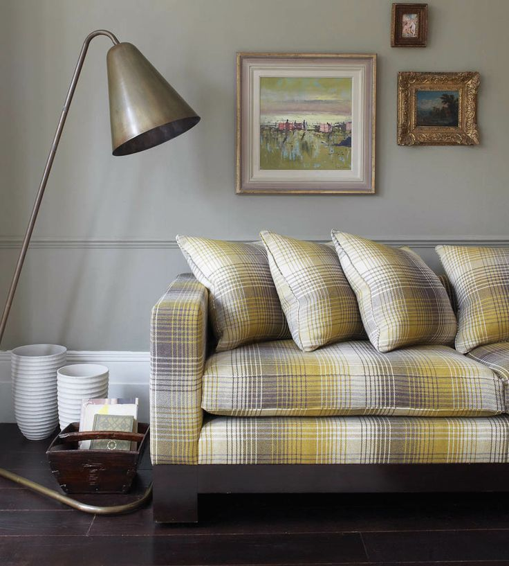 Greys | Wexford Fabric by Osborne & Little | Jane Clayton