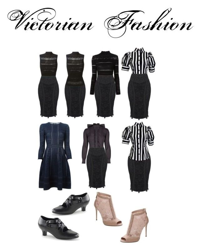 """Trend: Modern Victorian Fashion"" by christiana-nisi-walker on Polyvore featuring Alexander McQueen, Dolce&Gabbana, modern, victorian, modernvictorian, victorianfashion, Victorianera and modernvictorianfashion"