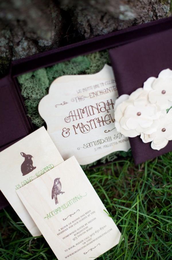 woodland wedding invitation 20 best invitespapers images