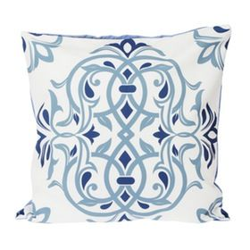 Le Atelier Ethnic Batik5 Blue Cushion Cover
