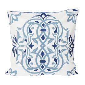 Le Atelier Ethnic Batik5 Blue Cushion Cover