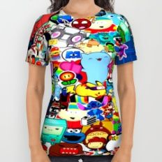 All 50 All Over Print Shirt