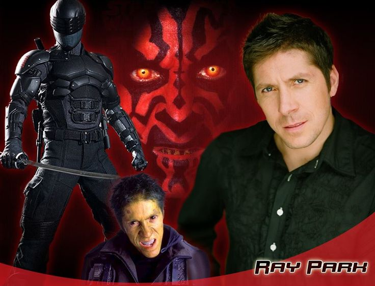 Welcome Ray Park to #SLComicCon. He is an actor best known for playing Darth Maul in Star Wars Episode I: The Phantom Menace and Snake Eyes in G.I. Joe: The Rise of Cobra.  (Profile: http://saltlakecomiccon.com/portfolio/ray-park)