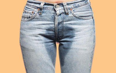 Peeing your pants in public