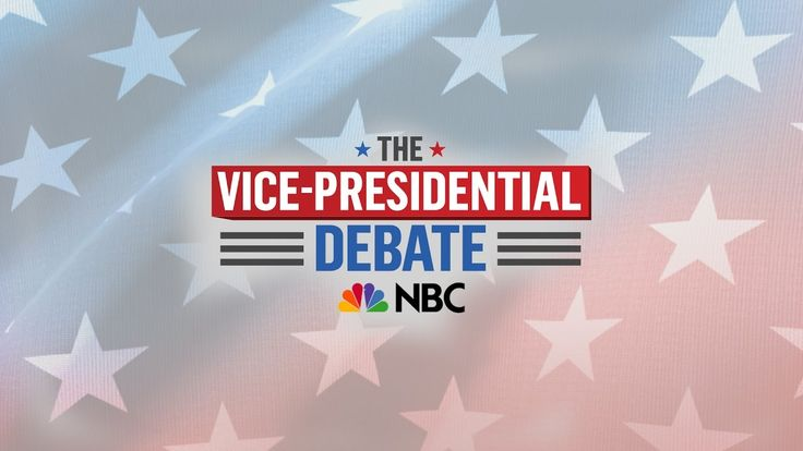 https://www.youtube.com/watch?v=mVXqNcW_-HA Tune in and watch the VP debate - The Vice-Presidential Debate - LIVE Tuesday October 4 2016 9 PM EST