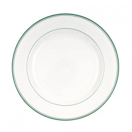 Green Band Dinner Plate - All Patterns - Patterns & Collections