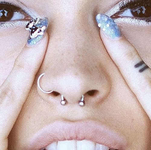 Cant wait to get my septum piercing done!!