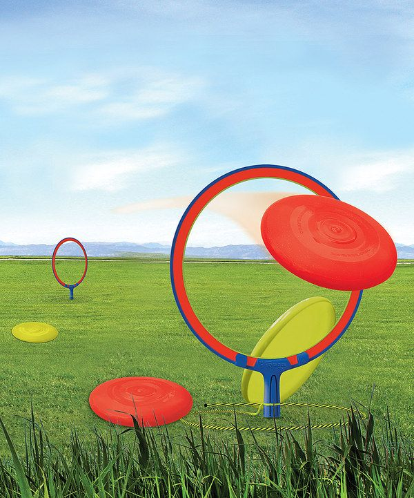 Look what I found on #zulily! Frisbee Horseshoes Set by Wham-O #zulilyfinds