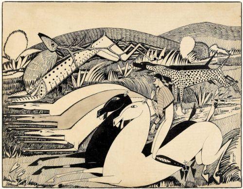 Amadeo de Souza Cardoso (1887-1918) Portuguese Painter Drawings