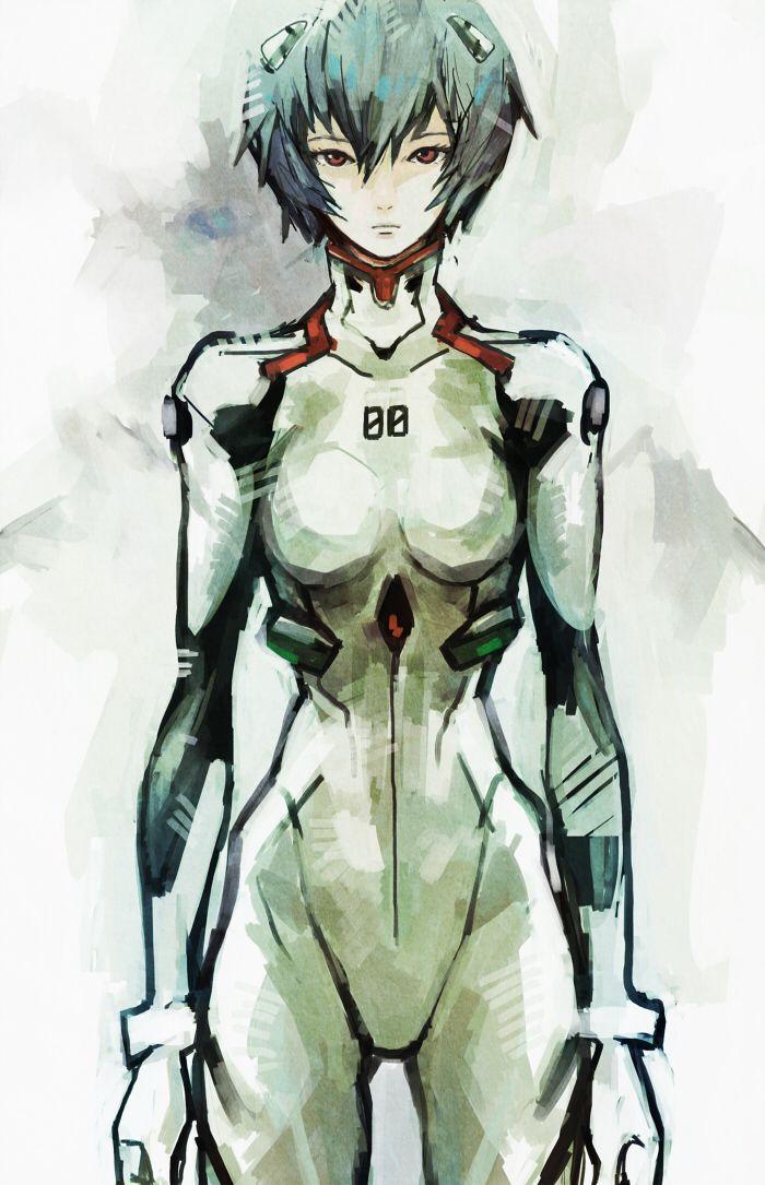 Rei Ayanami || Evangelion || Art