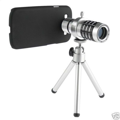 12X Zoom Lens Mobile Phone Telescope for Samsung Galaxy S3 i9300 with Tripod