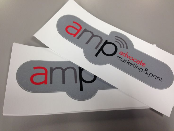Nashville print company business cards graphic design by amp