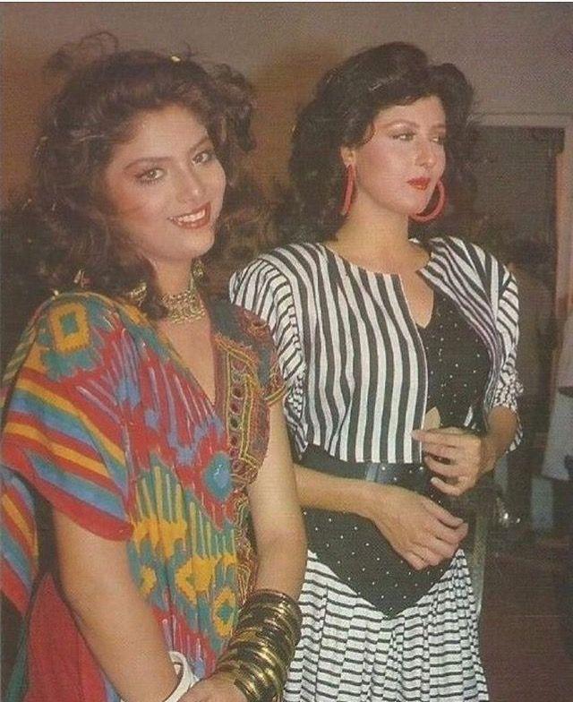 Sonam & Sangeeta Bijlani