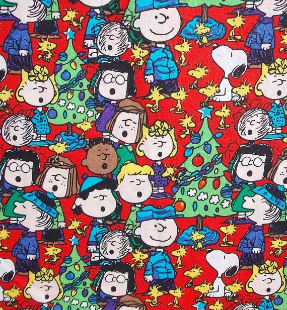 This listing is for 1 yard 36x 42 of this adorable print Christmas themed 100% cotton print! This fabric is brand new right off of the bolt