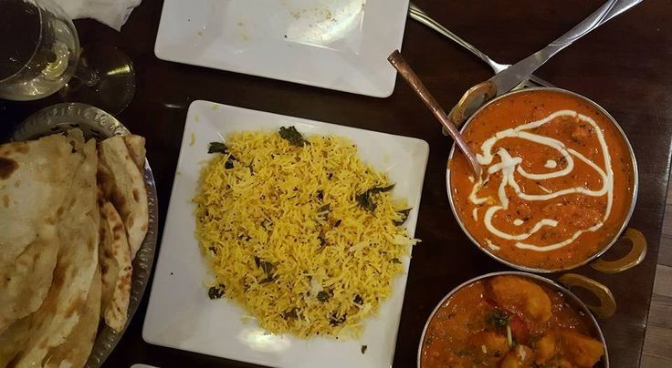 Is this with rice, is that pie - Indian curry from namaste india taste delicious! :) http://www.namasteindia.pl/ A photo posted by Erika Hanley on Facebook.