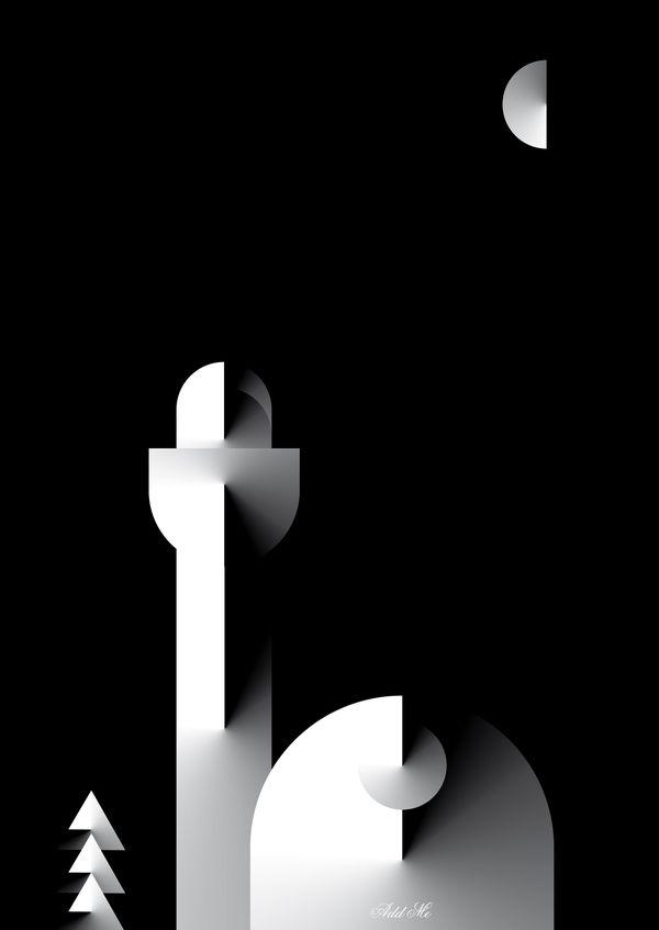 Minimalist Poster Design - Metafisico