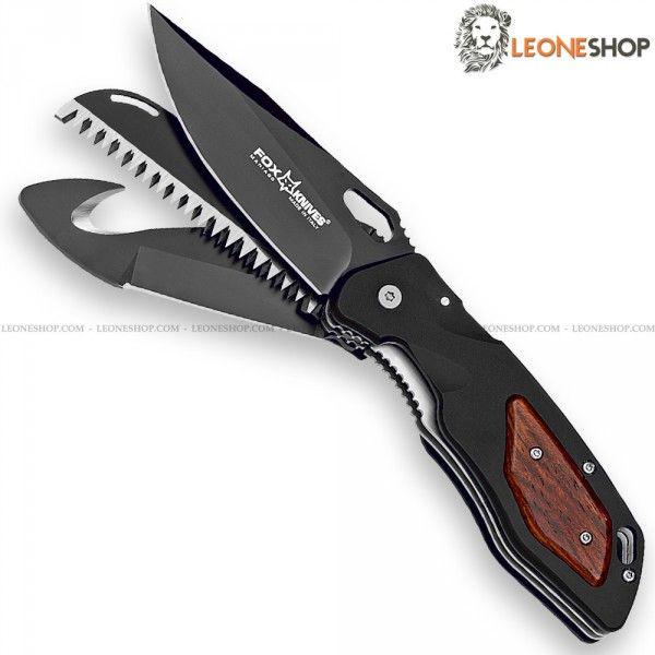 FOX KNIVES MULTI HUNTER Folding Hunting Knife 439CB ...