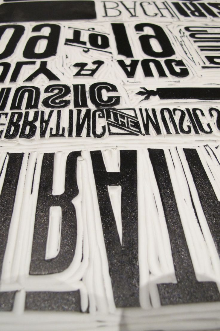 lino and typography