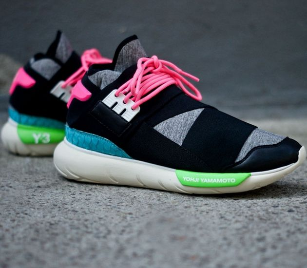 adidas Originals Y-3 Qasa High – Black / Neon