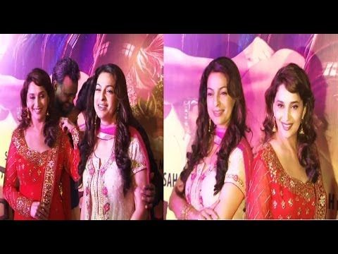Madhuri Dixt and Judi Chawala TOGETHER @ PREMIERE of GULAAB GANG.