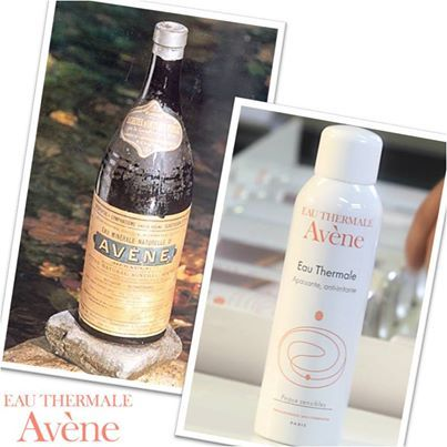 Avene thermal water bottle has changed quite a lot over the years…!