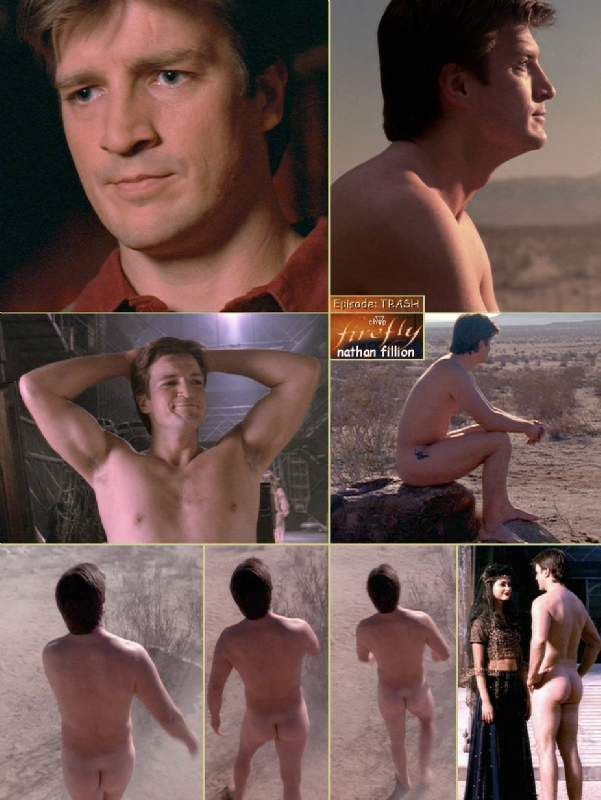 Naked Nathan Fillion- not just because he's naked, but also because he's the kind of actor who takes risks and potentially looks silly but understands the strength that comes from that!