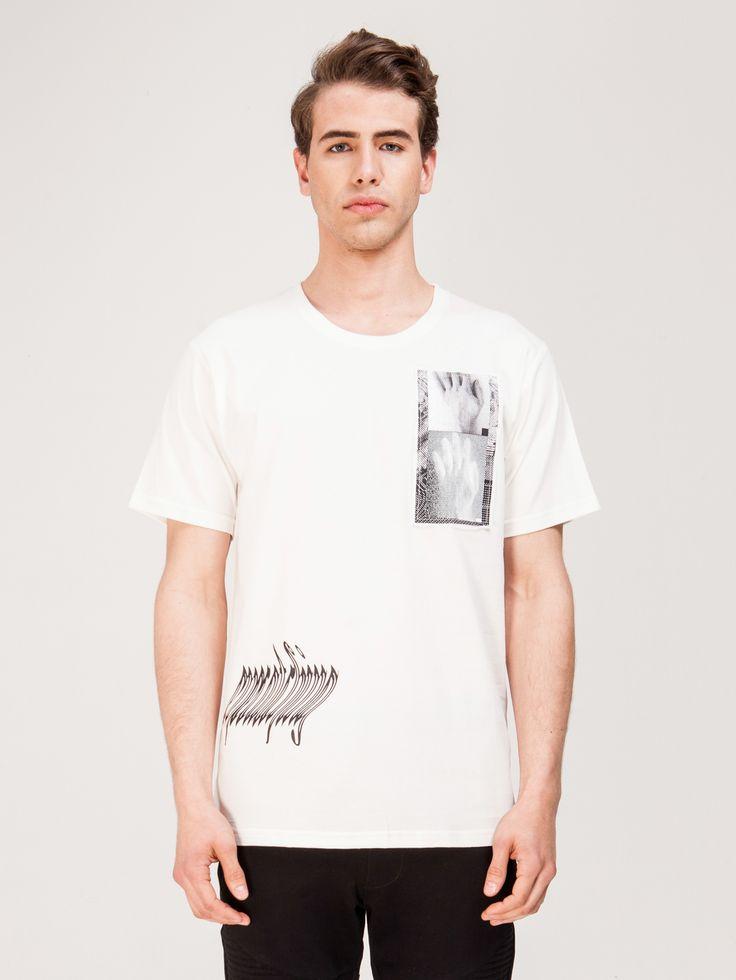 MISBHV , Antwerp Erkek T-shirt Beyaz #shopigo#shopigono17#shoponline#womenswear