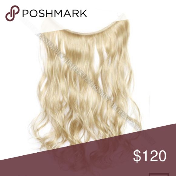 HALOCOUTRE hair extension blonde #60 Brand new never worn. Bought wrong shade online but its perfectly okay in good condition! Message me for more pictures!! Halo Innovations Other