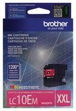 Brother - LC10EM XL High-Yield Ink Cartridge - Magenta (Pink)