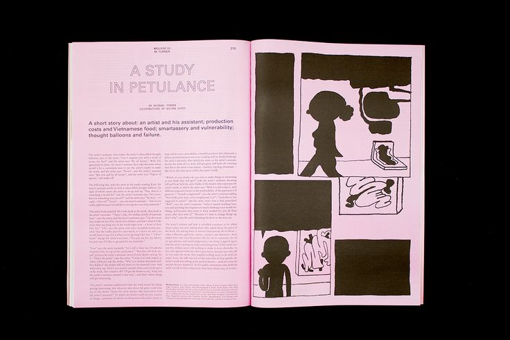 Mousse Magazine #52 ~ #walterscott #illustration #michaelturner #moussemagazine