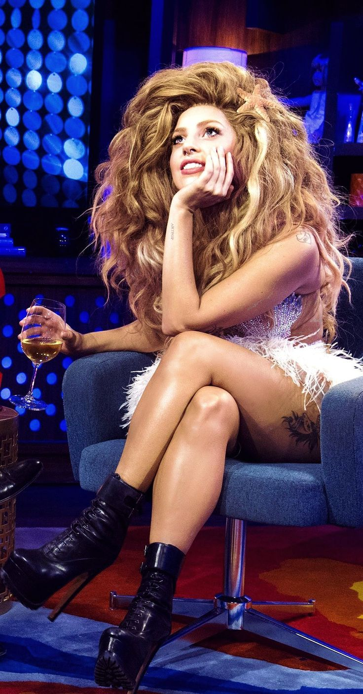Lady Gaga on Watch What Happens Live #love