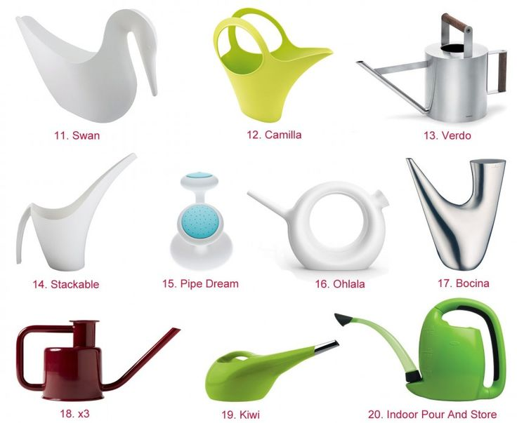 HomeDSGN Shopping: 20 Stylish Modern Watering Cans