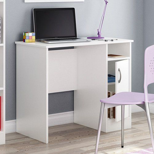 Have to have it. South Shore Axess Collection 35W in. Small Desk - Pure White - $87.99 @hayneedle