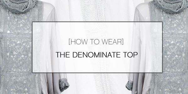 How to wear: The Denominate Top | Taylor #TaylorBoutique #TaylorStyle #NZ #HighFashion #SS14 #NewCollection #NewZealand #Fashion