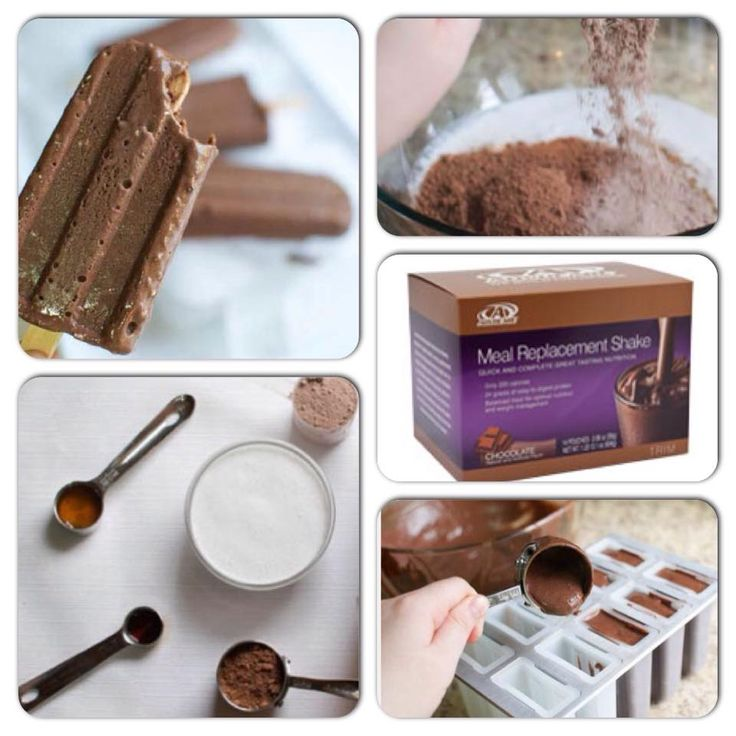 Meal Replacement Shakes recipe.  Fudgecicle YUM! 24days2skinny.com