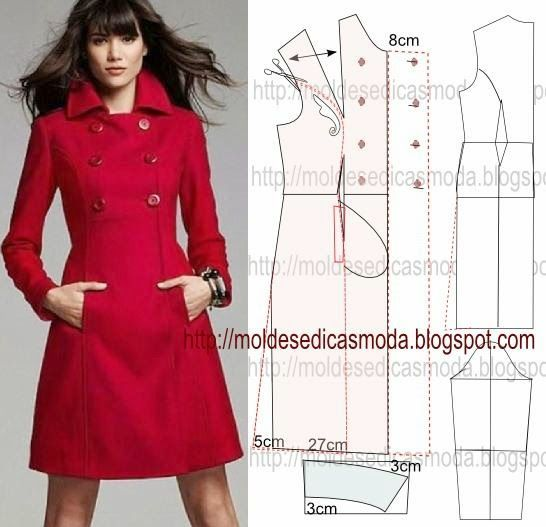 Từ chart may áo khoác nhanh tay may chiếc áo cho mùa lạnh4