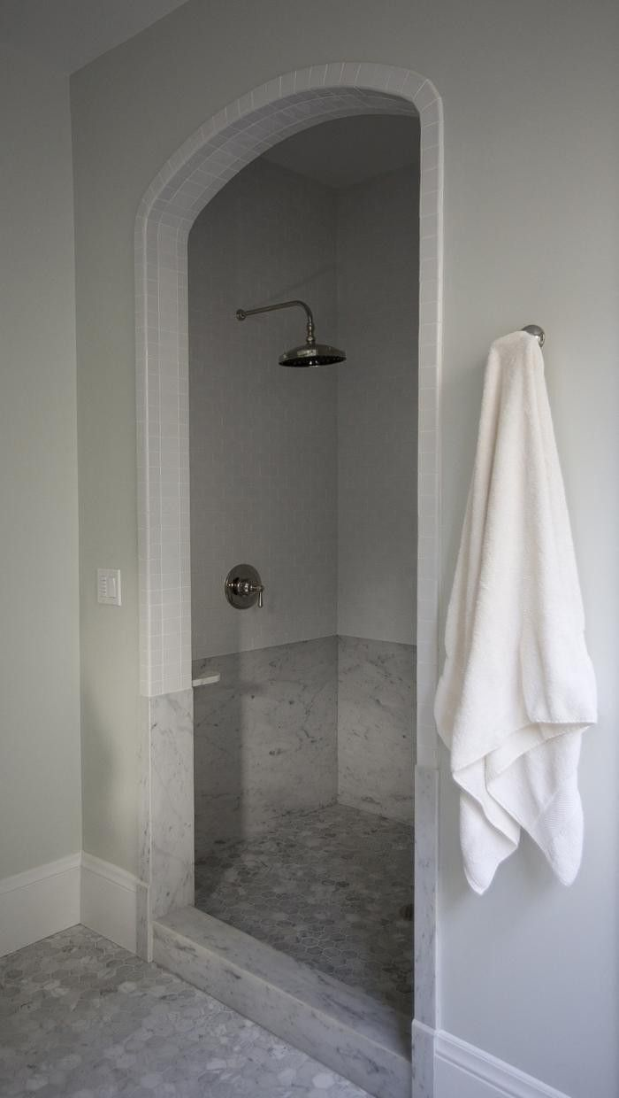 Tile Walk In Showers Without Doors
