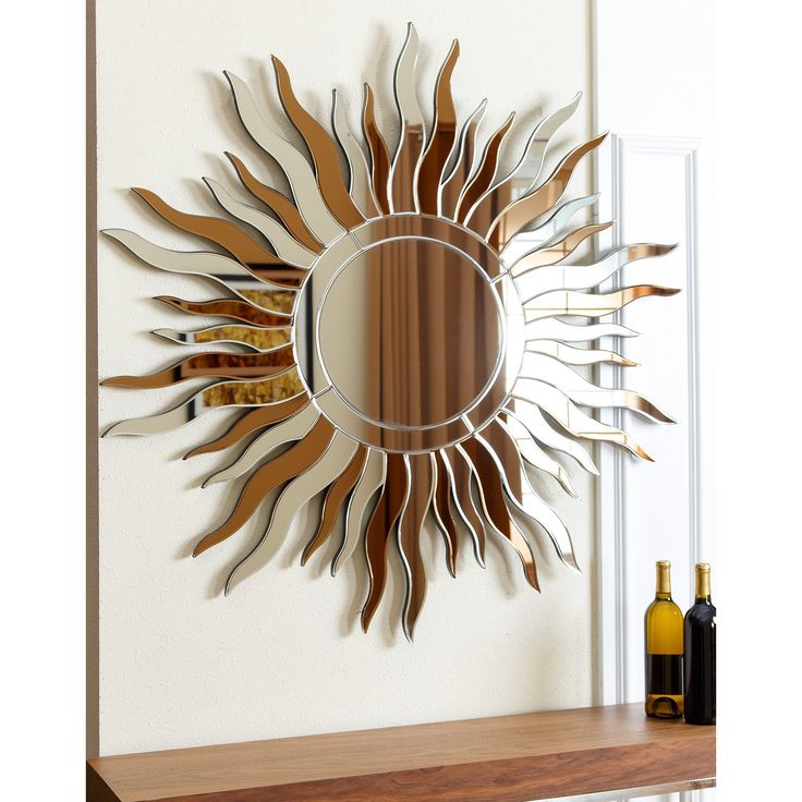 Hang This Artistic Wall Mirror In The Space Of Your Choice