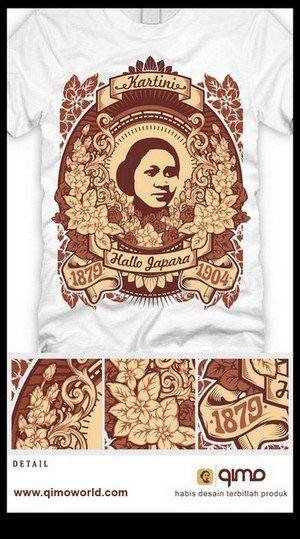 Souvenir Kaos Jepara, Distro Kaos qimo Jepara, Rumah Kartini Japara