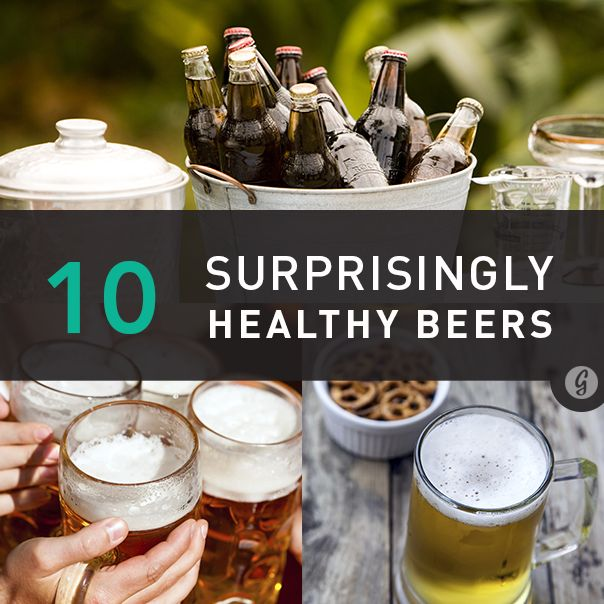 10 Surprisingly Healthy Beers - halfway there! Shout out Left Hand, Sierra Nevada, Full Sail, New Belgium, Abita
