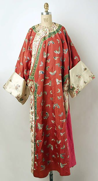 The Real Deal: Qing Dynasty Imperial RobesFestival Robe (jifu pao), Qing dynasty…
