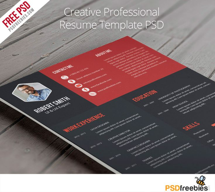 Chronological Resume Samples%0A Download Creative Professional Resume Template Free PSD  Remember your  first impression starts with your Resume