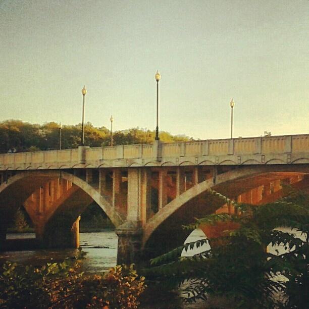 #bridge #river #danriver #sunrise #city #danville #va #sky