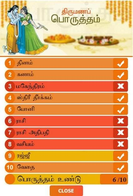 matchmaking tamil
