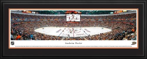 Anaheim Ducks Panoramic Picture Deluxe Matted Frame