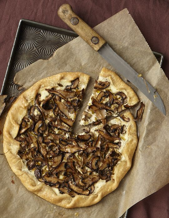 Go Meatless With Chef Carla Hall's Rustic Mushroom Tart