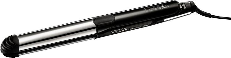 Conair - Infiniti Pro by Conair Ceramic Curling Iron - Black/silver
