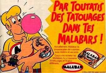 Tatouages Malabar, qui ne les a pas essayer